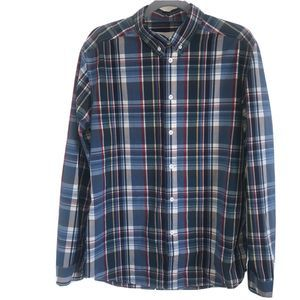 Sons of Fortune New York Plaid Button Down Shirt